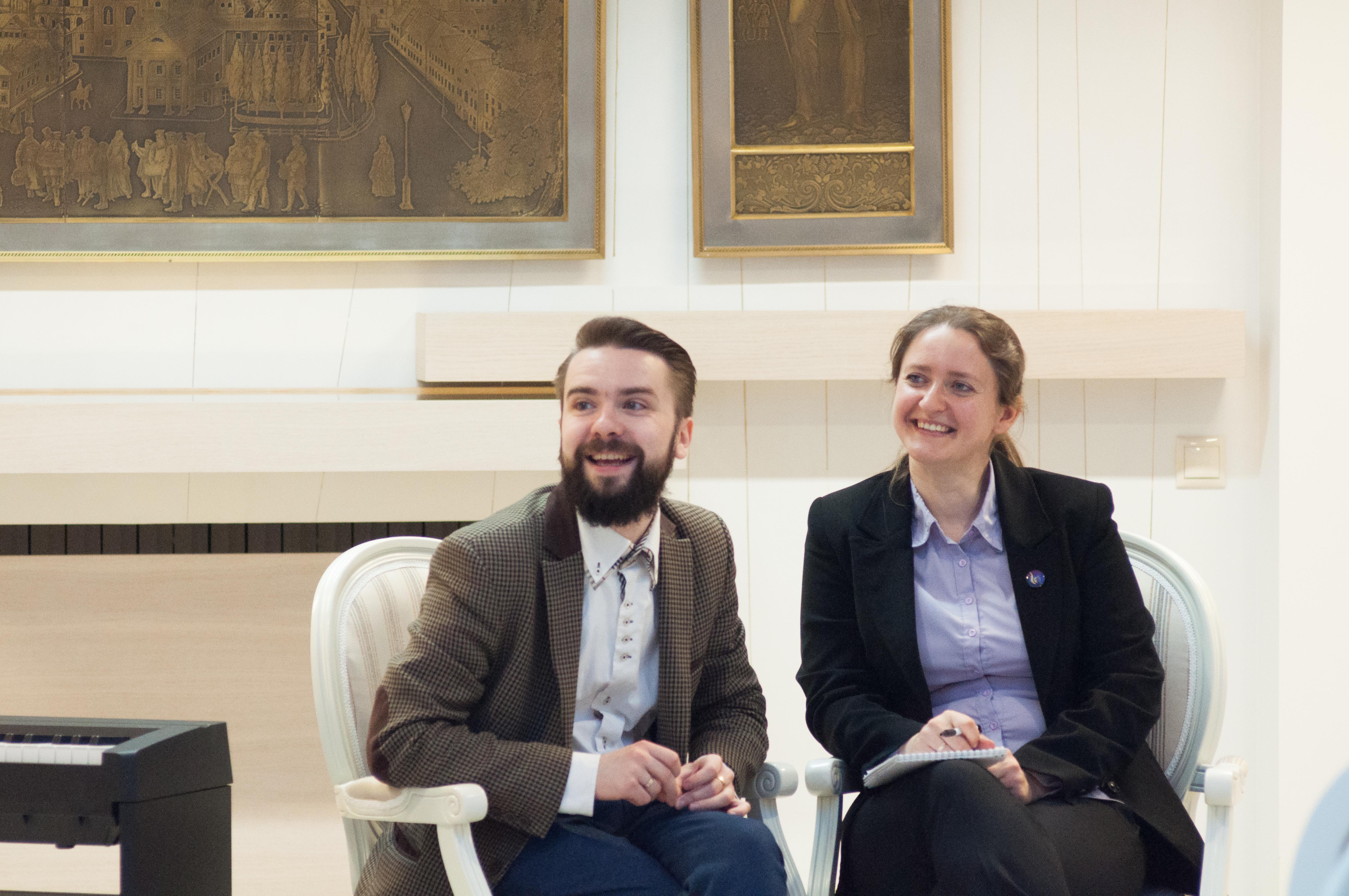 Артём Шаплыко и Мария Бондаренко