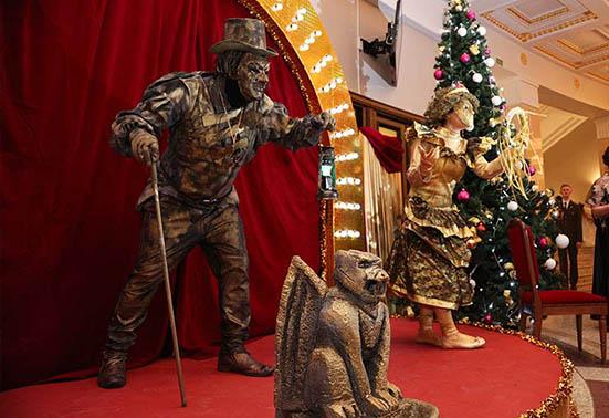 Рождественский бал в Большом театре Беларуси