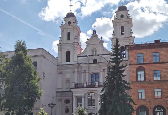 Архикафедральный костел Пресвятой Девы Марии