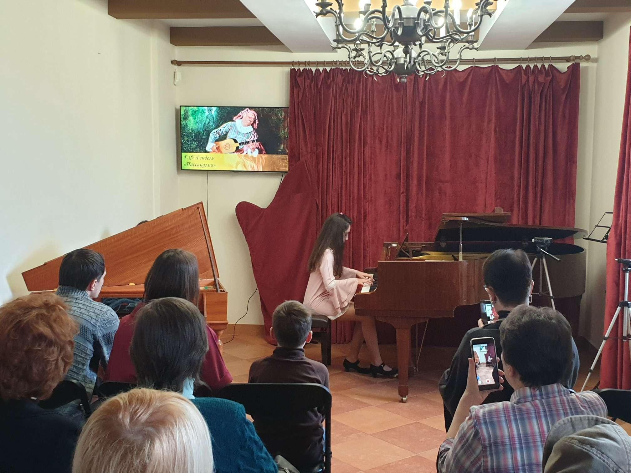 Встреча музыкантов любителей «Гармонии эпохи Барокко»