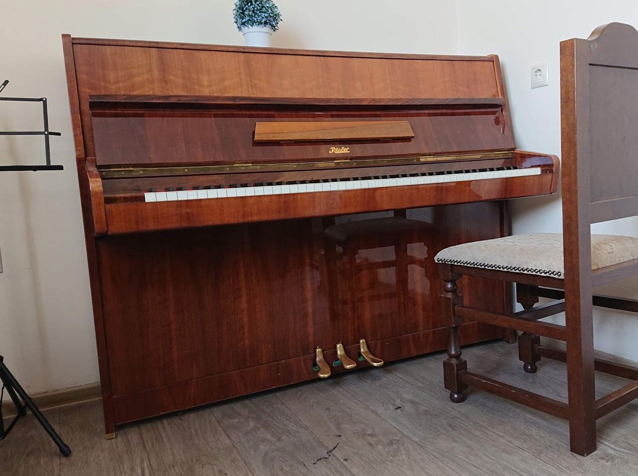 Репетиторий №4 — акустическое пианино Perzina и клавесин
