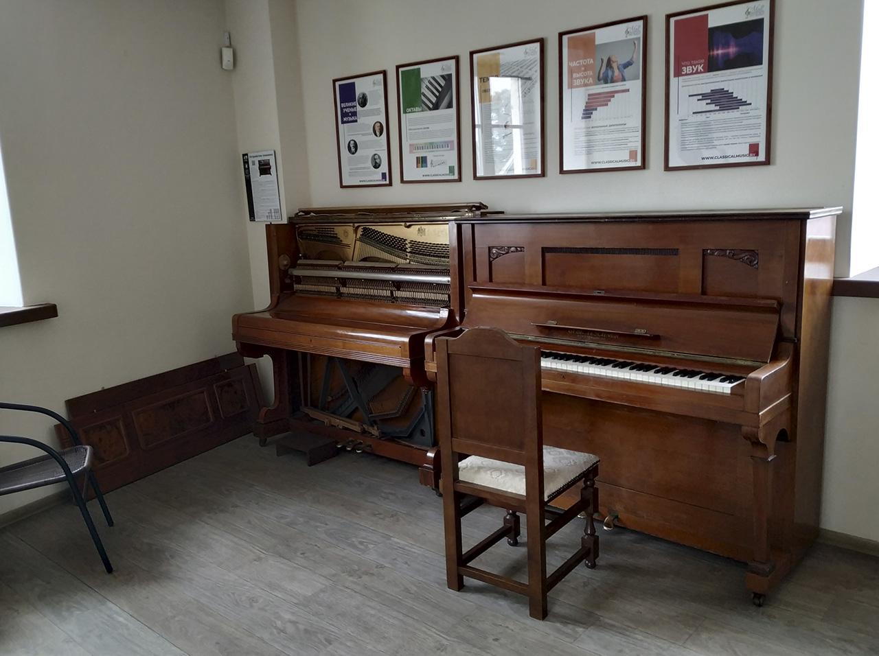 Музыкальный репетиторий 3. Teschner — акустическое пианино Teschner
