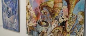 Открытие выставки «Музыка и свет» в Национальном центре современных искусств